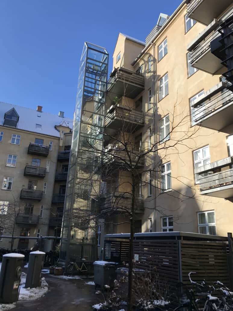lejlighedskompleks